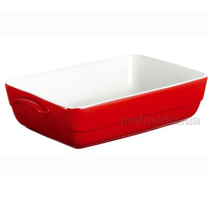 Форма прямоугольная Pyrex Wawe Red C307B05