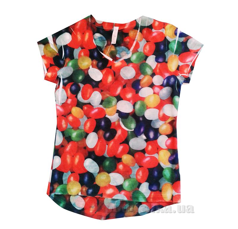 Футболка 3D для девочки Gloria Jeans 07530 шарики