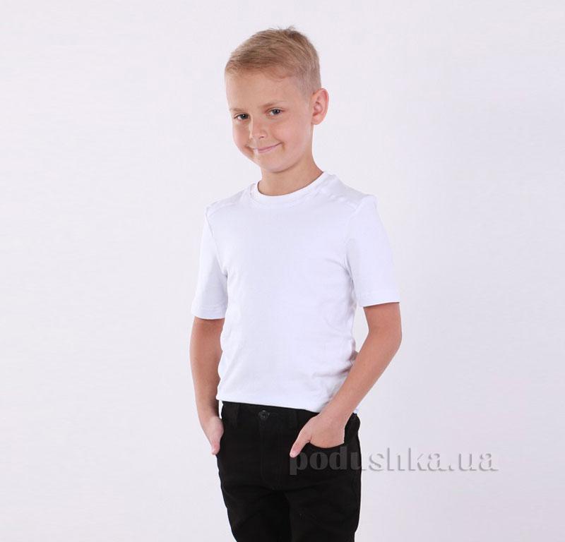 Футболка для мальчика Димакс Ф 5 белая