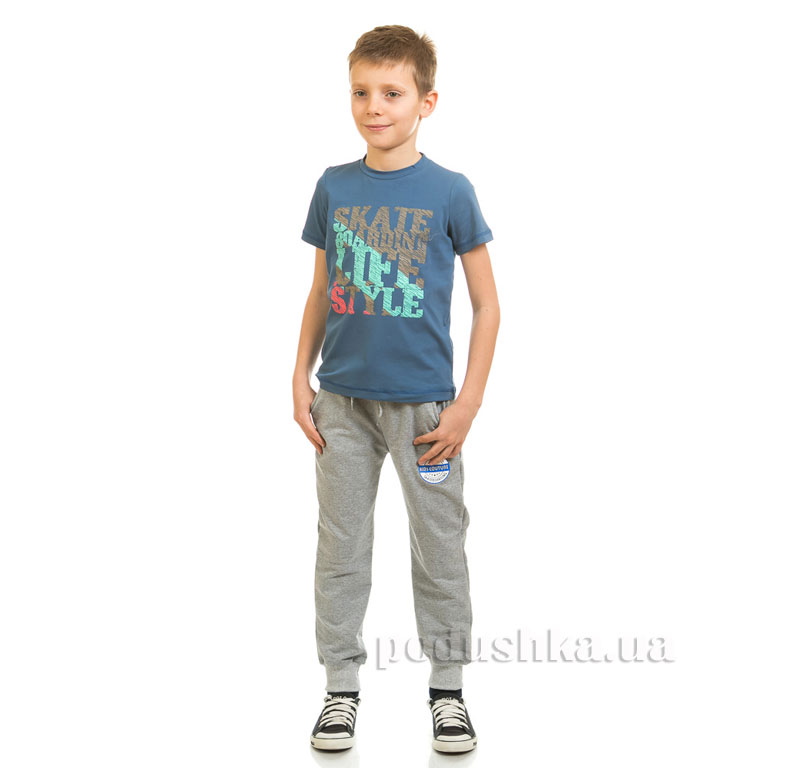 Футболка для мальчика Kids Couture 17-222 синяя