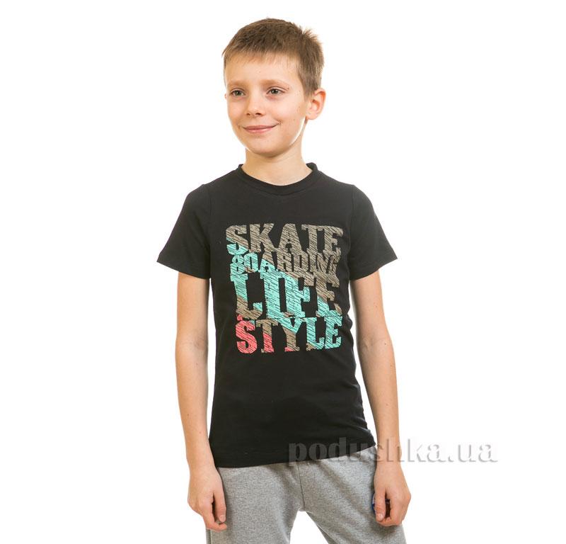 Футболка для мальчика Kids Couture 17-222 темно-синий