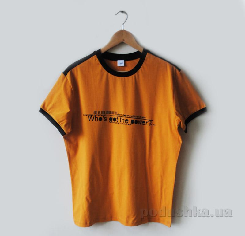 Футболка для мужчин Senti 1501041 оранжевая