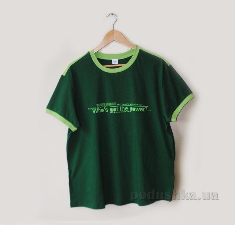 Футболка для мужчин Senti 1501041 зеленая