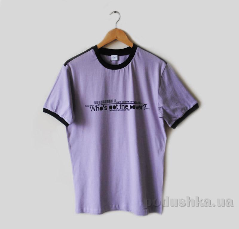 Футболка для мужчин Senti 150104 фиолетовая
