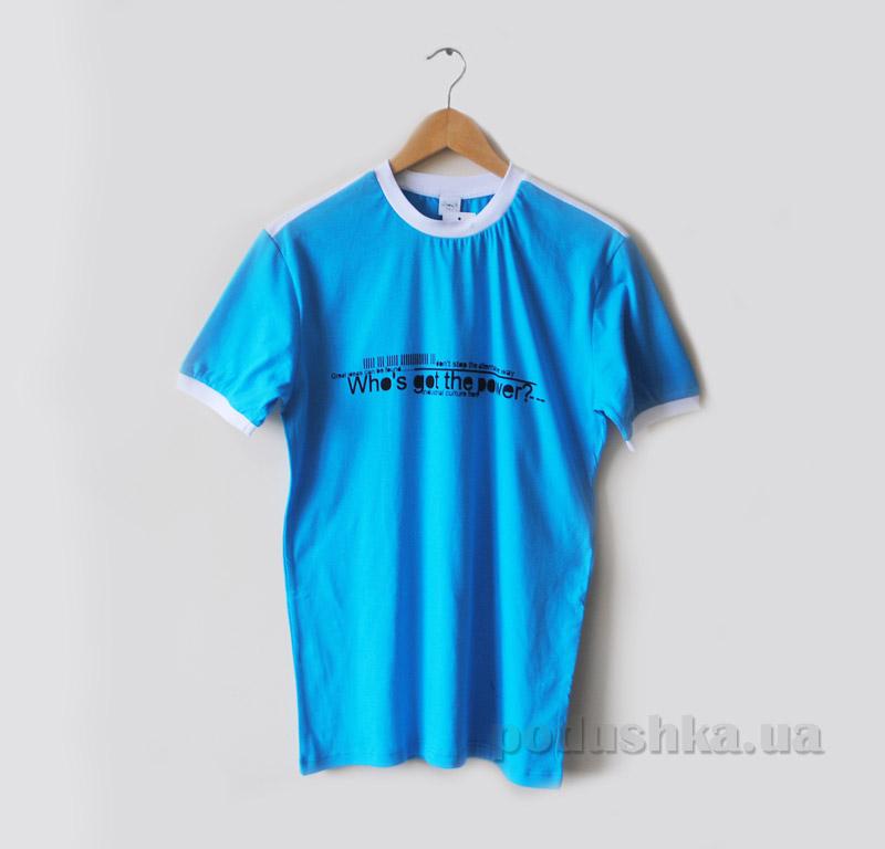 Футболка для мужчин Senti 150104 голубая