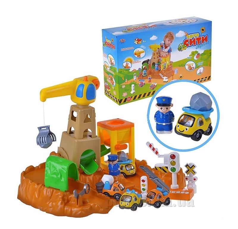 Гараж Joy Toy 7190 Авто-сити стройка ut-91887