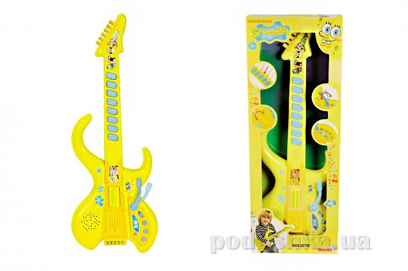 Гитара Sponge Bob со звуковыми эффектами Simba 949 8548