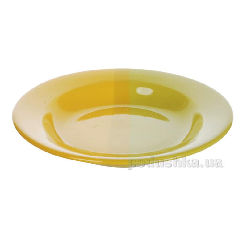 Глубокая тарелка Cesiro желто-салатовая