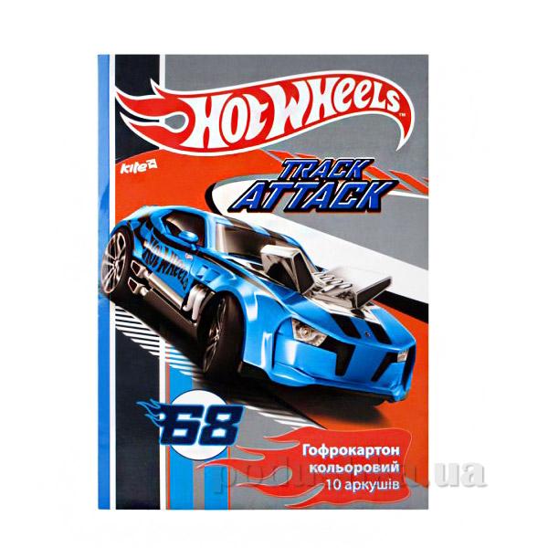 Гофрокартон цветной А4 Hot Wheels HW14-256K