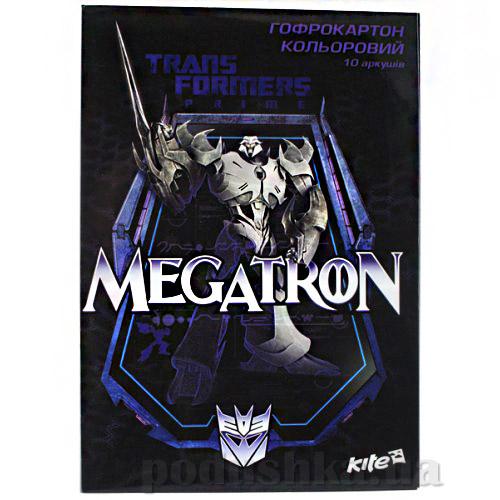 Гофрокартон цветной А4 Kite Transformers TF13-256К