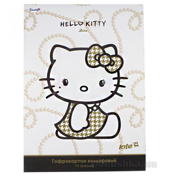 Гофрокартон цветной Hello Kitty Diva A4