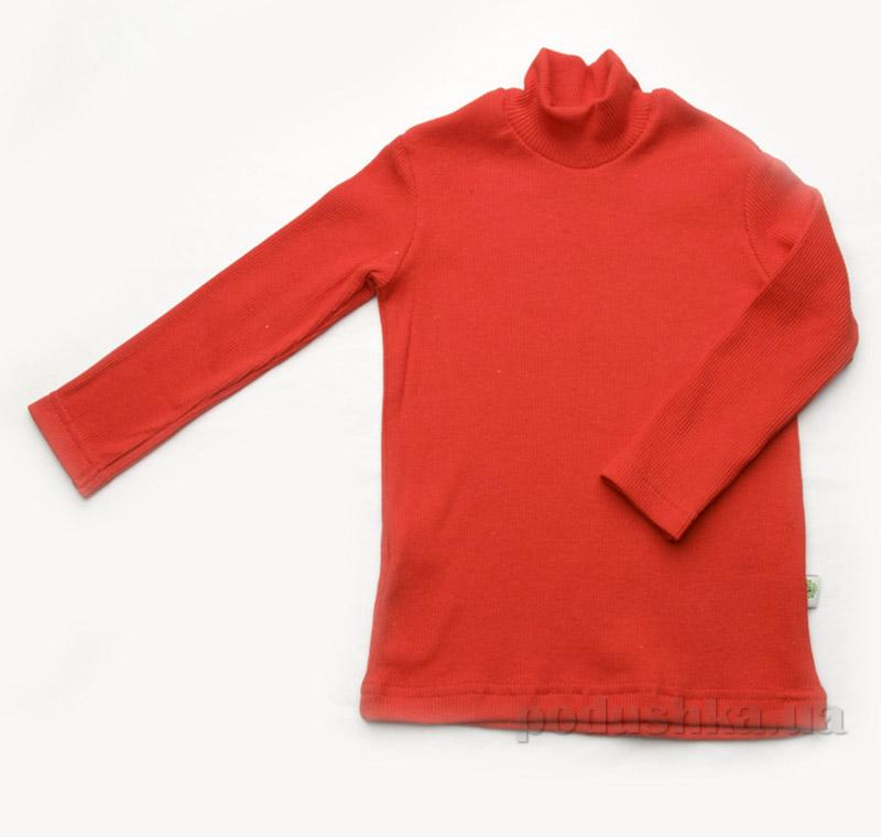 Гольфик для девочек рубчик Модный Карапуз 03-00615 бордовый