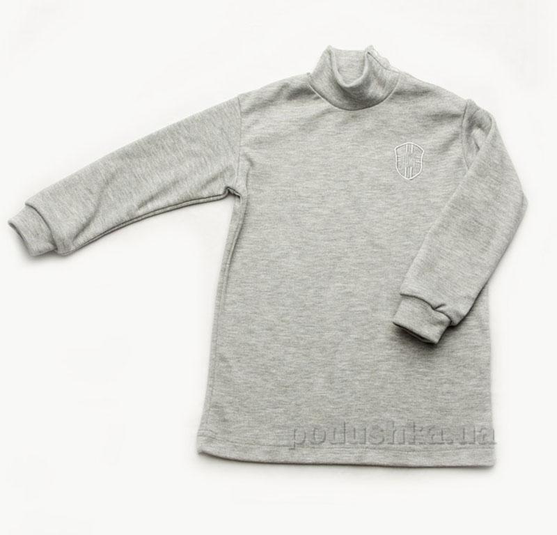 Гольфик для мальчика Модный Карапуз 03-00593 серый
