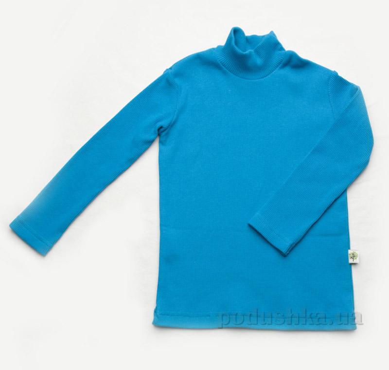 Гольфик для мальчика рубчик Модный Карапуз 03-00615 бирюзовый