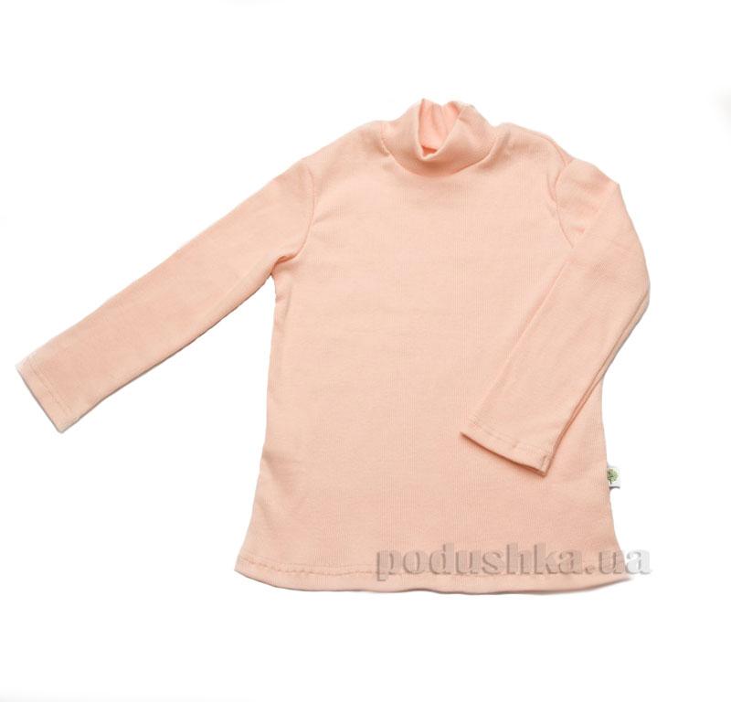 Гольфик в рубчик Модный Карапуз 03-00615 персиковый