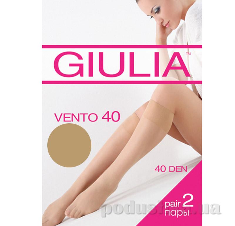 Гольфы бежевые Vento 40 Den Giulia visone