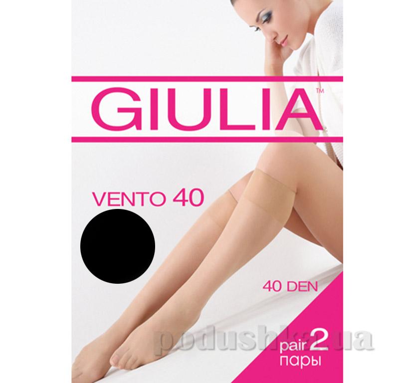 Гольфы черные Vento 40 Den Giulia nero