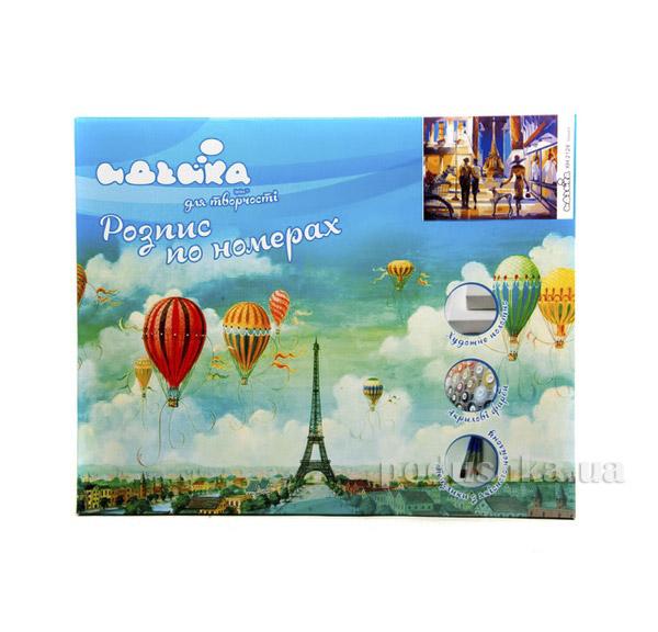 Городской пейзаж Прогулка по вечернему Парижу Идейка 06002124
