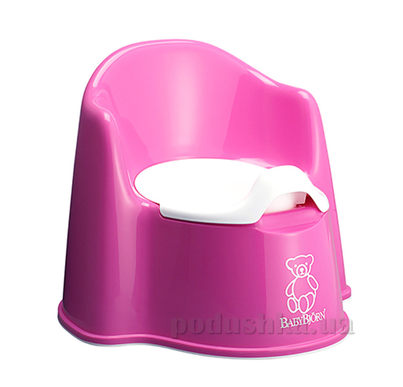 Горшок Baby Bjorn Potty Chair Розовый