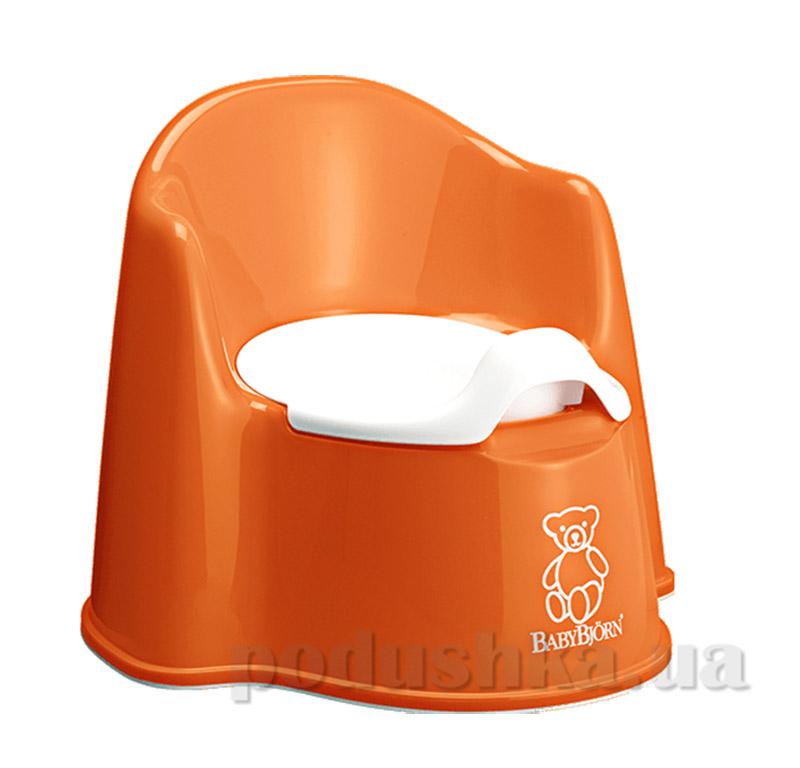 Горшок Baby Bjorn Potty Chair Оранжевый