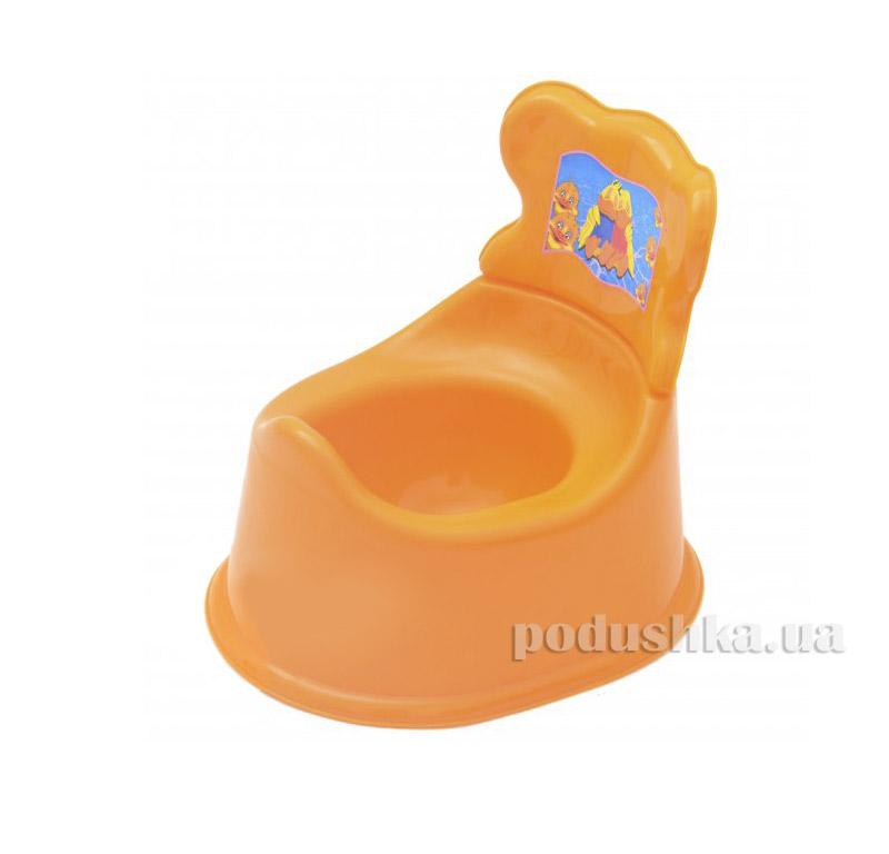 Горшок Kinderway (25-002) Оранжевый