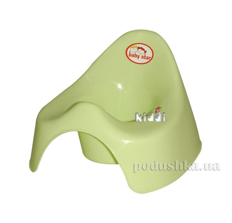 Горшок Kinderway Уточка (25-001) Зеленый