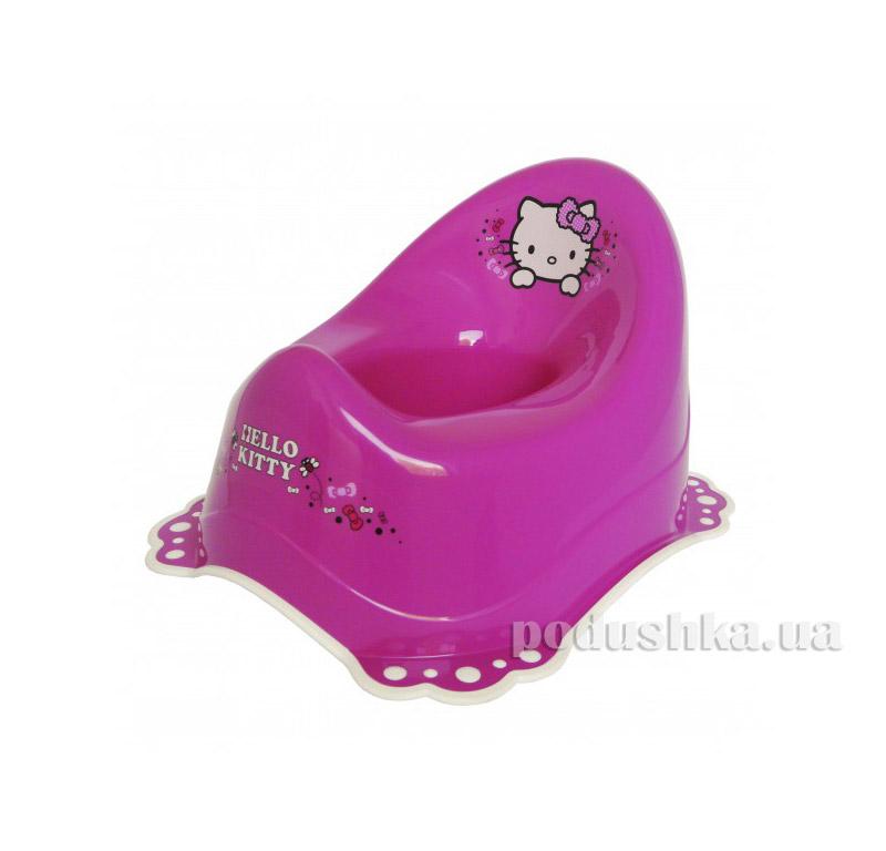 Горшок Maltex Hello Kitty c нескользящими резинками Розовый