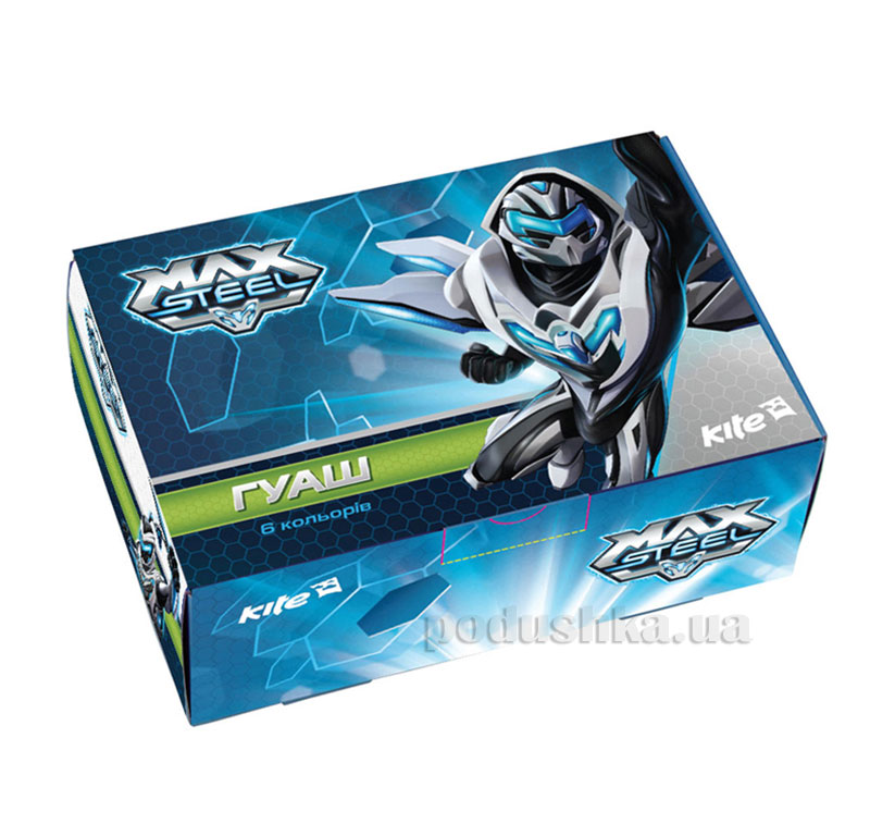 Гуашь для рисования Max Steel MX14-062K