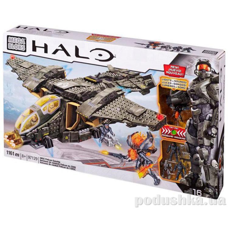 Halo Набор конструктора Боевой вертолет Пеликан 97129 Mega Bloks