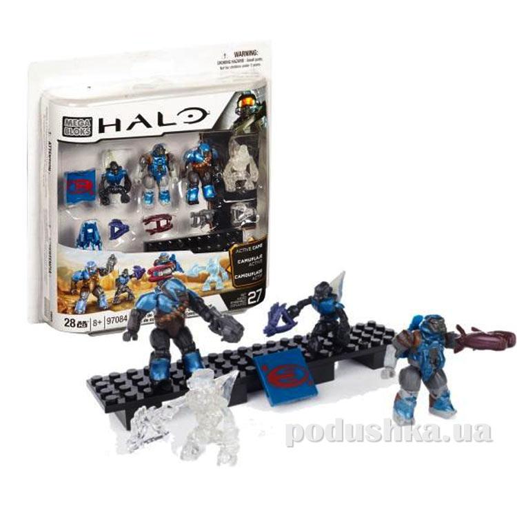 Halo Набор конструктора Кобальтовое подразделение Ковенанта 97084 Mega Bloks