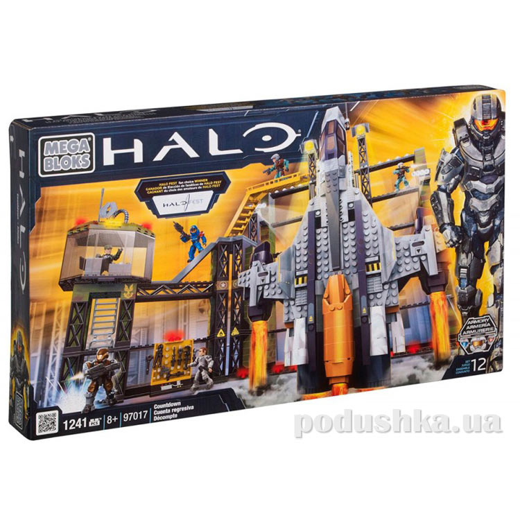 Halo Набор конструктора Летательный аппарат Обратный отсчет 97017 Mega Bloks
