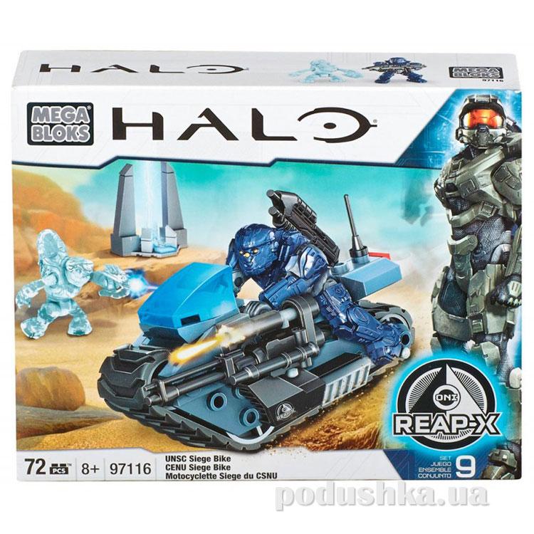 Halo Набор конструктора Штурмовой мотоцикл UNSC 97116 Mega Bloks