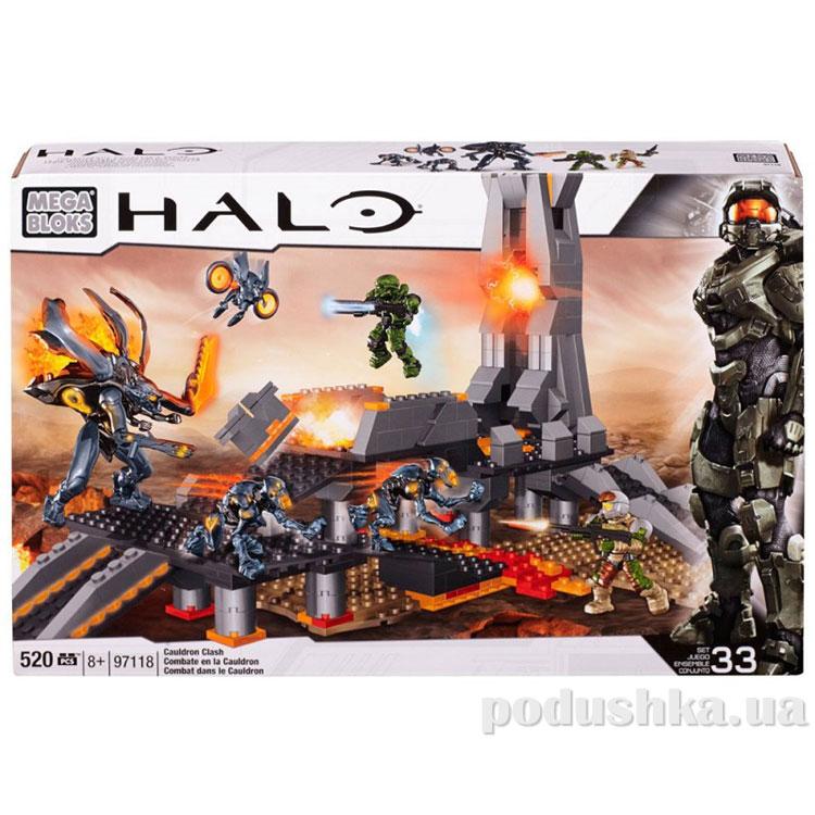 Halo Набор конструктора Столкновение 97118 Mega Bloks