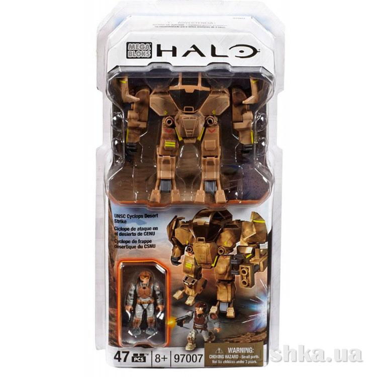 Halo Набор конструктора Циклоп UNSC Пустыня 97007 Mega Bloks