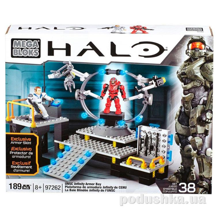 Halo Набор конструктора Защита UNSC 97262 Mega Bloks