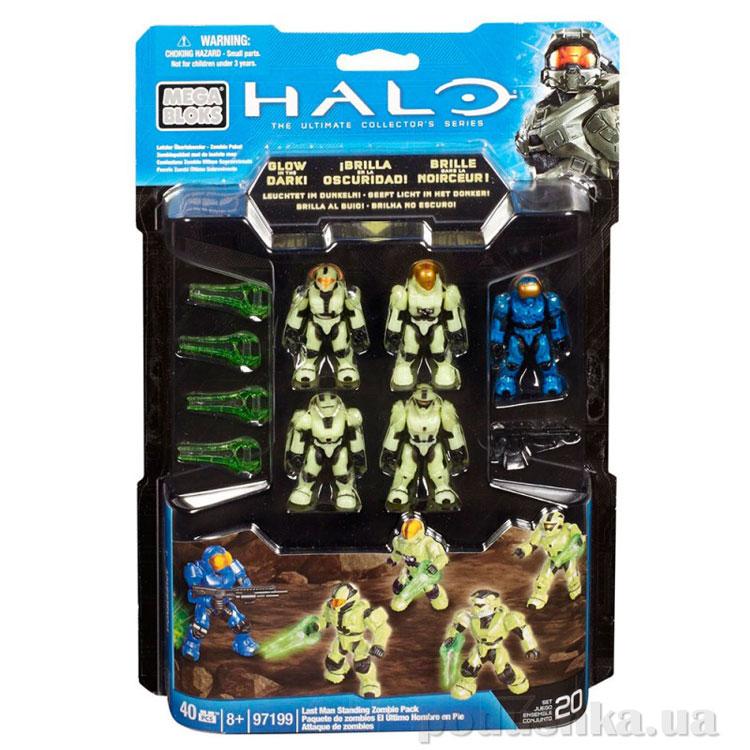 Halo Набор светящихся фигурок Солдаты UNSC 97199 Mega Bloks