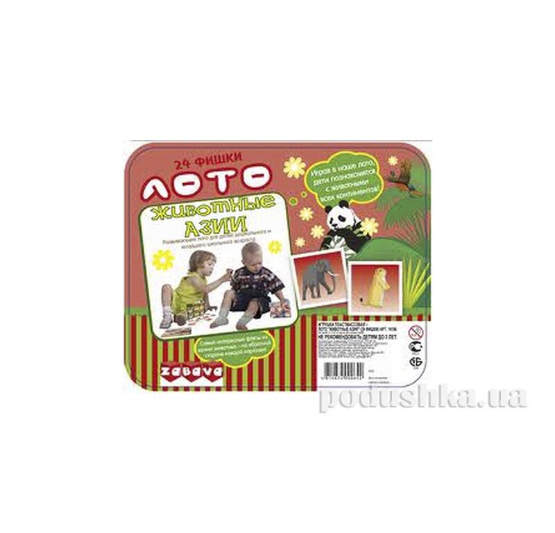 Игра детская Лото Животные Азии Jambo 06014106