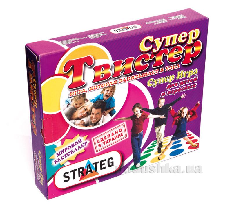 Игра детская Strateg Супер Твистер