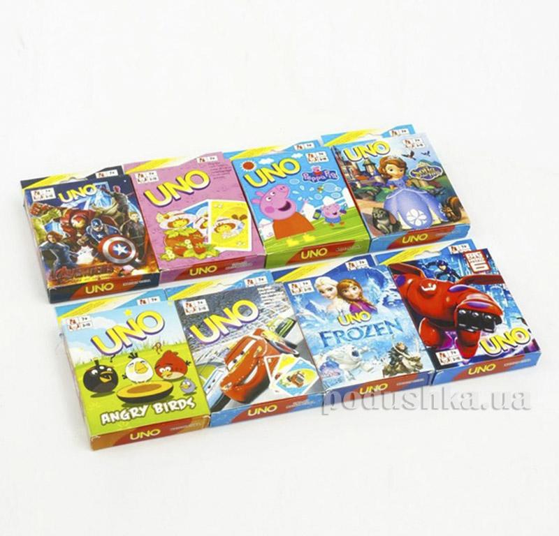 Игра карточная UNO 466-600 Jambo 06246901
