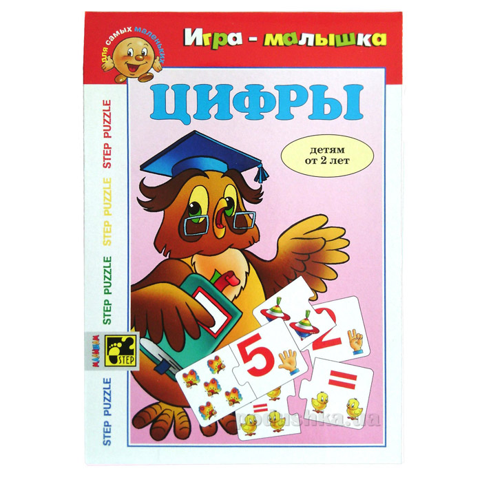 Игра малышка Цифры Step Puzzle 76039-5