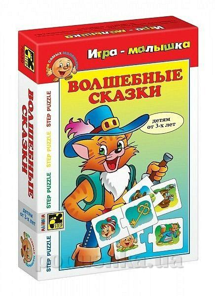 Игра малышка Волшебные сказки Step Puzzle 76039-6