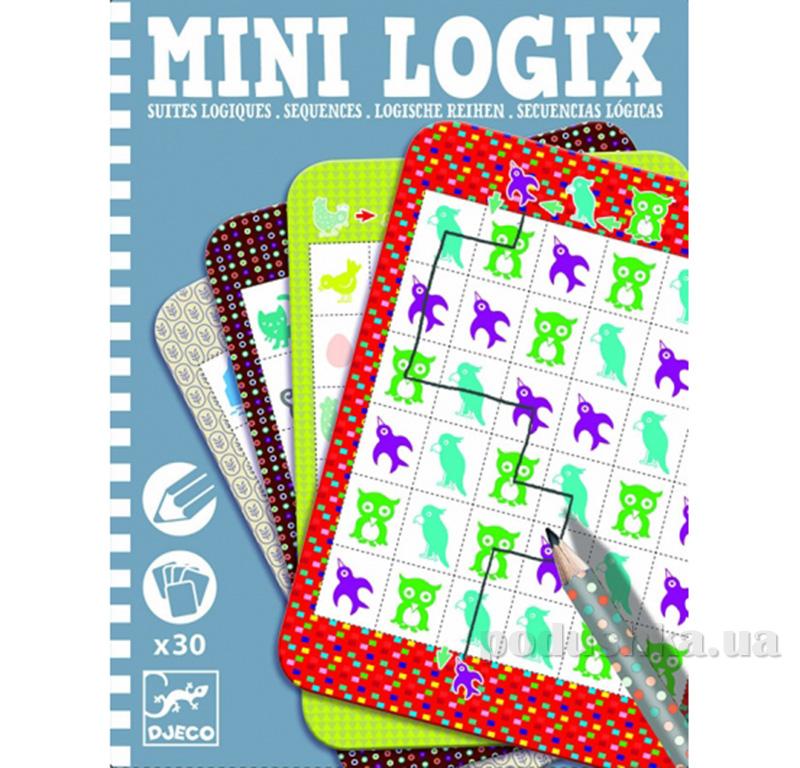 Игра мини логик Логические последовательности Djeco