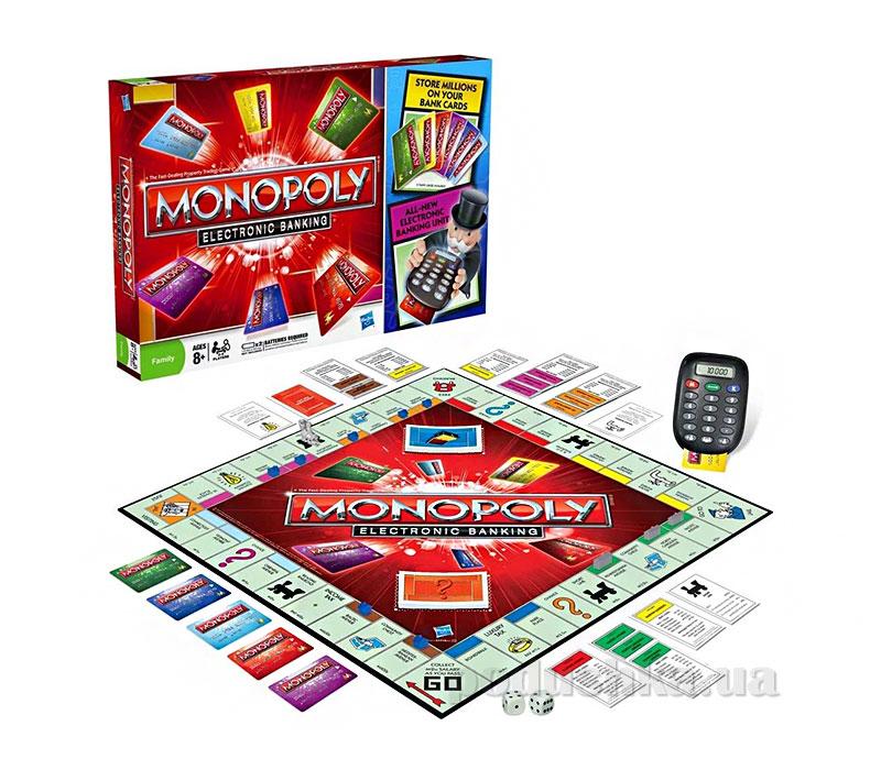 Игра Монополия с банковскими карточками Hasbro 37712