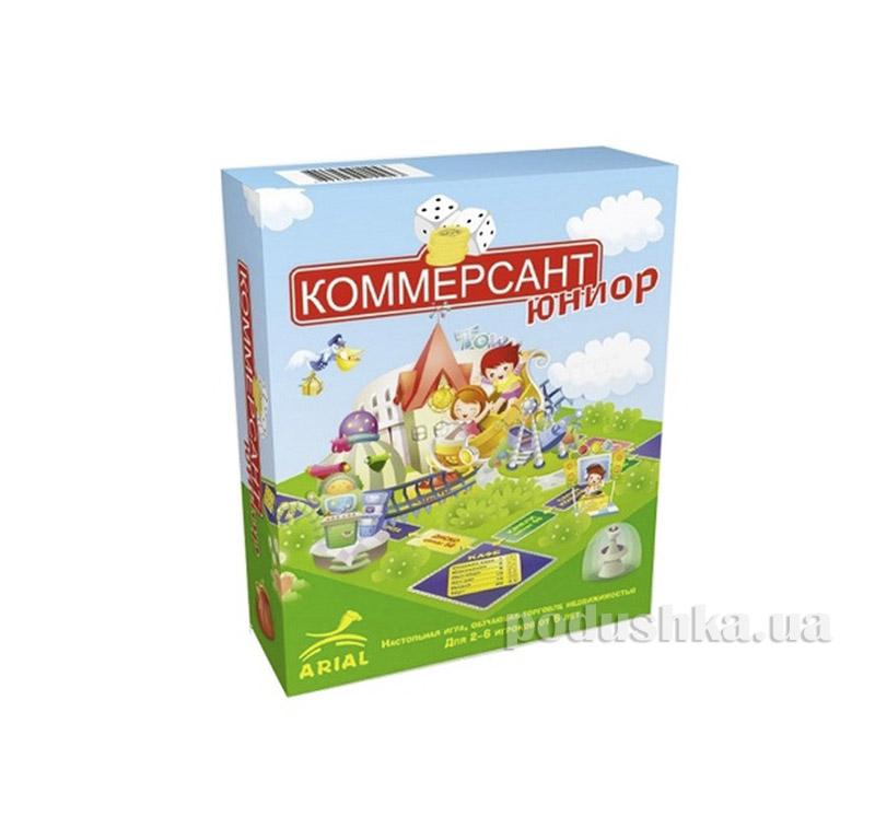 Игра настольная Коммерсант-юниор Arial 06911043