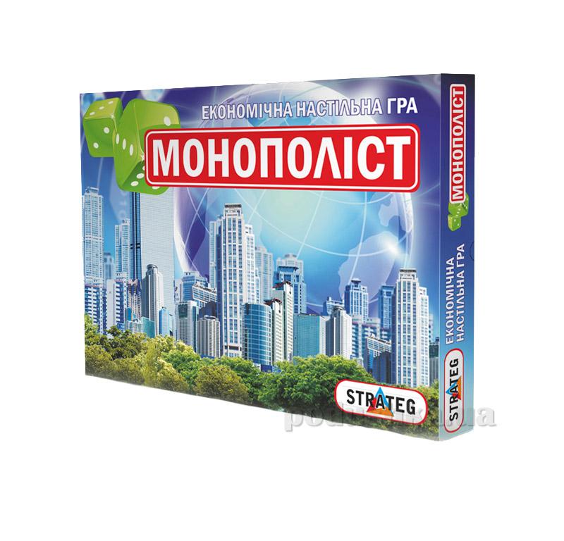 Игра настольная Strateg Монополист