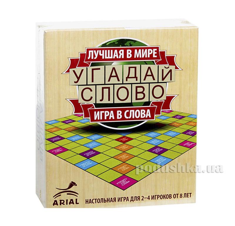 Игра настольная Угадай слово Arial 06911067