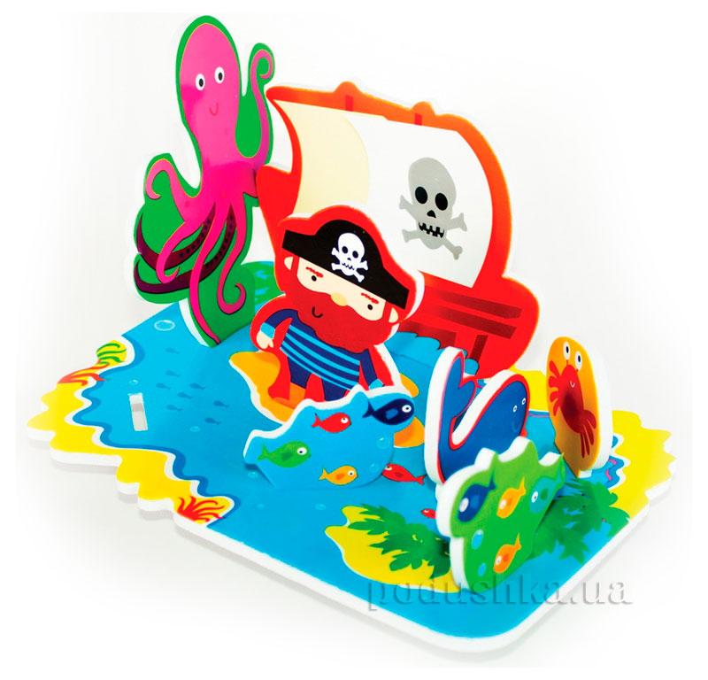 Игровой 3D набор для ванной Остров Сокровищ Meadow Kids MK 036