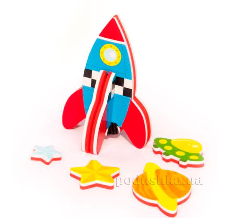 Игровой 3D набор для ванной Ракета Meadow Kids MK 232