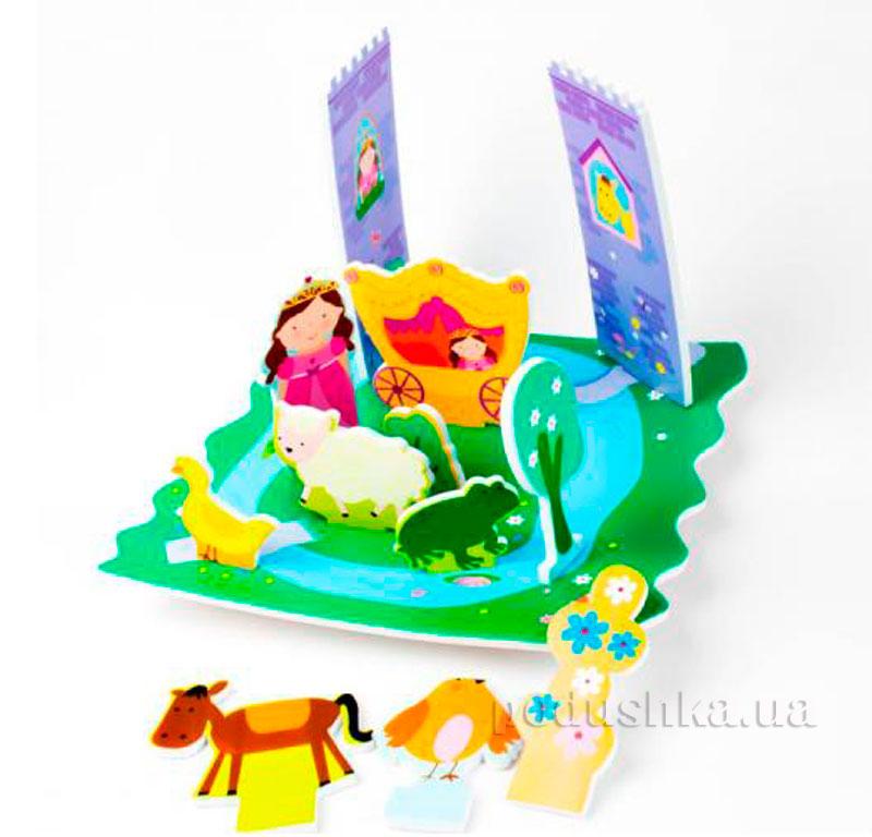 Игровой 3D набор для ванной Замок Принцессы Meadow Kids MK 153