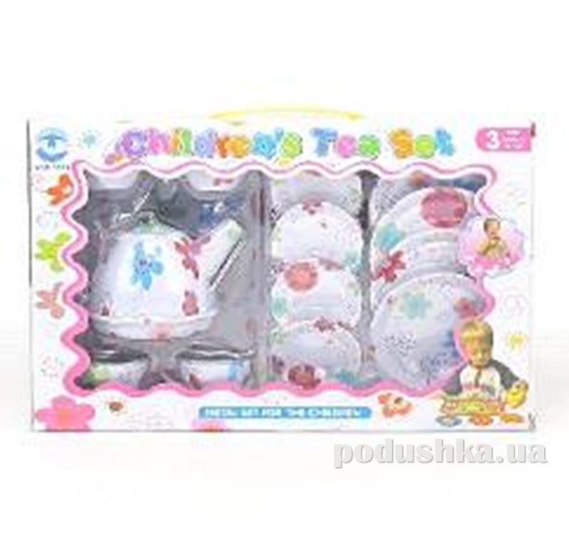 Игровой чайный набор из 13 предметов Tea Set Toys 457843LK